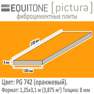 Equitone PICTURA PG742 1,25x3,1