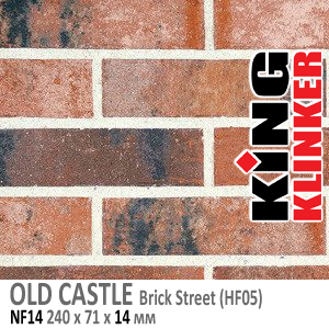 OLD CASTLE NF14 Brick Street (HF05)