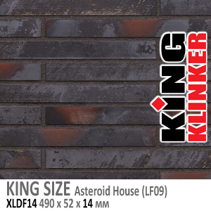KING SIZE Asteroid house (LF09)