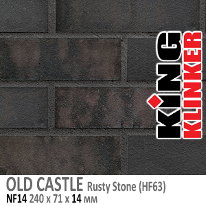 OLD CASTLE NF14 Rusty Stone (HF63)