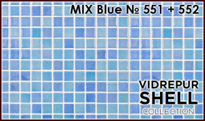 Shell MIX Blue 551+552