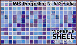 Shell MIX Deep Blue 552+555