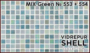 Shell MIX Green 553+554