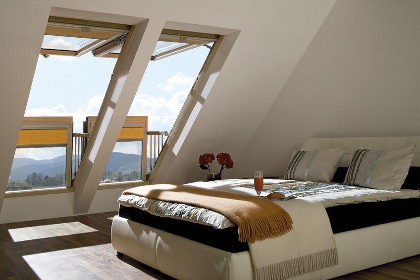 окна для мансарды