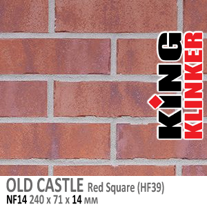OLD CASTLE NF14 Red Square (HF39)