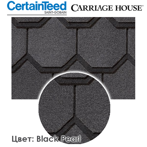 CertainTeed Carriage House цвет Black Pearl