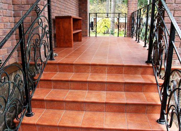 Клинкерные ступени для лестниц