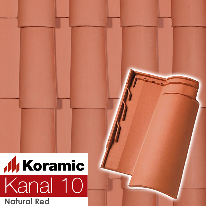KORAMIC KANAL 10 natural red цена купить
