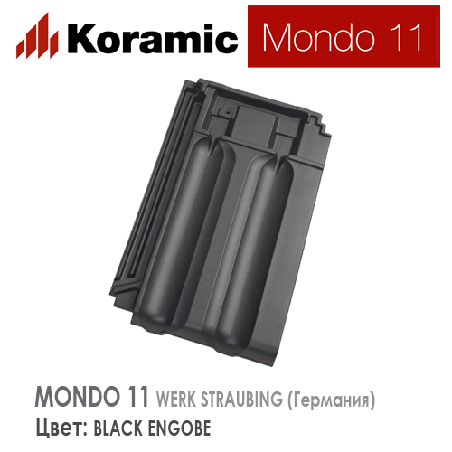 KORAMIC MONDO 11 Black Engobe