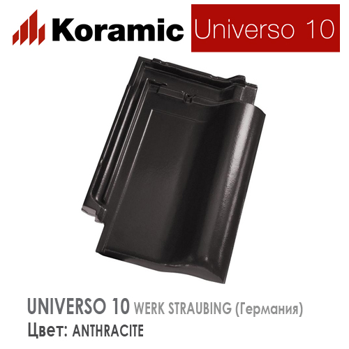 KORAMIC UNIVERSO 10 Anthracite