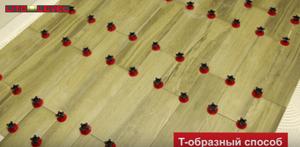 Т-образный способ установки Многоразовая система выравнивания плитки Litolevel: купить в москве на roof-n-roll.ru
