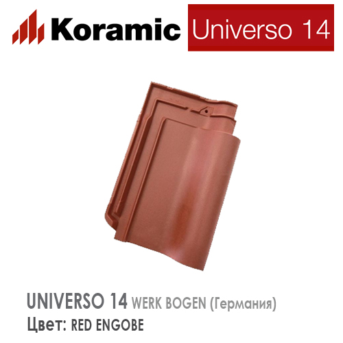 KORAMIC UNIVERSO 14 Red Engobe