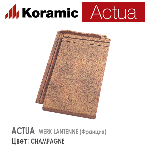 KORAMIC ACTUA Champagne Antique