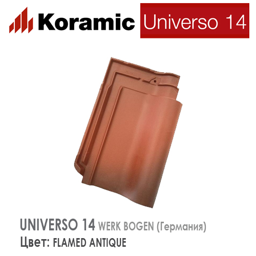 KORAMIC UNIVERSO 14 Flamed